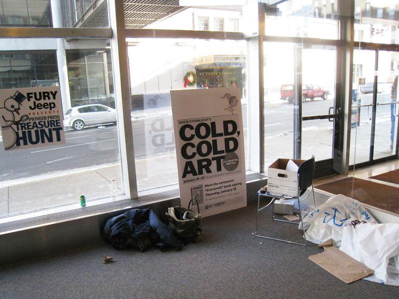 Cold Art Pi Press Jan east